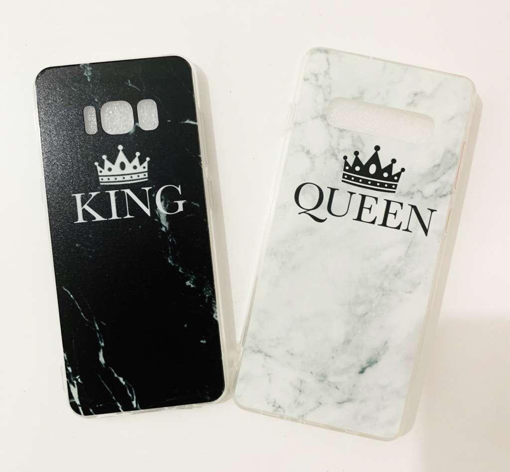 סט קינג וקווין לכל הטלפונים, אפשר לערבב טלפונים, ולהוסיף שמות, רשמו  בהערות